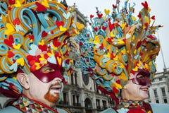 Venise, Italie - 7 février 2018 - les masques du carnaval 2018 Photos libres de droits