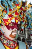 Venise, Italie - 6 février 2018 - les masques du carnaval 2018 Image libre de droits
