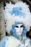 Venise, Italie - 7 février 2018 - les masques du carnaval 2018 Images libres de droits