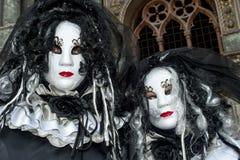 Venise, Italie - 7 février 2018 - les masques du carnaval 2018 Photos stock