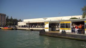 Venise, Italie - 15 03 2019 : Vue de Grand Canal du bateau clips vidéos