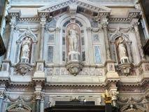 20 06 2017, Venise, Italie : Vue intérieure de décoration riche d'o Images libres de droits