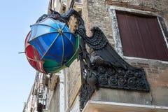 VENISE, ITALY/EUROPE - 12 OCTOBRE : Le dragon de Maforio à Venise Image libre de droits