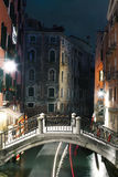 Venise, Kanaal, Vénétie, Italie, Royalty-vrije Stock Foto's