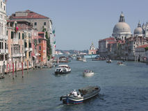 Venise - l'Italie - canal grand Photo libre de droits