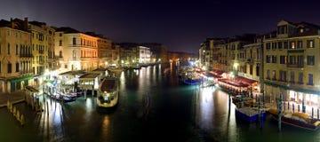 Venise la nuit Photos stock