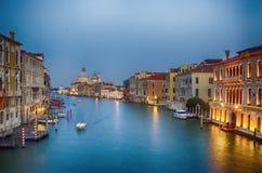 Venise la nuit Images libres de droits