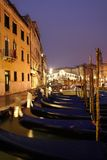 Venise la passerelle de Rialto Photo stock