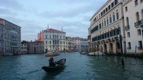 Venise la soirée Images libres de droits