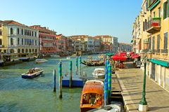 Venise, le canal grand Photographie stock