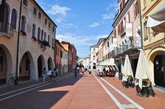 VENISE, MESTRE- 26 JUILLET : Mestre en juillet 26,2013 en Italie. Mestre est la zone urbaine la plus peuplée du continent de Venis Image libre de droits