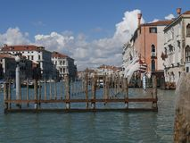Venise - palais Vendramin Calergi photo libre de droits