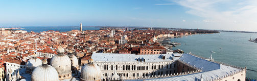 Venise panoramique Images stock