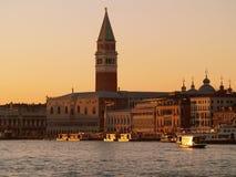 Venise par crépuscule Photo libre de droits