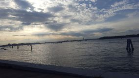 Venise par la piscine découverte images libres de droits