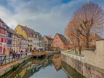 Venise pequeno en Colmar fotos de archivo