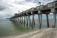 Venise Pier Venice Florida Photos libres de droits