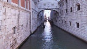 Venise Pont de l'Italie des soupirs clips vidéos