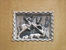 Venise : St George et le dragon Photographie stock