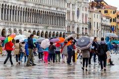 Venise un jour pluvieux Photo stock