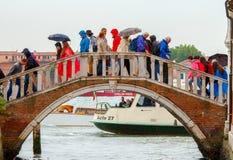 Venise un jour pluvieux Images libres de droits