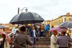 Venise un jour pluvieux Photos libres de droits
