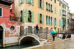 Venise un jour pluvieux Photo libre de droits