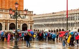 Venise un jour pluvieux Images stock