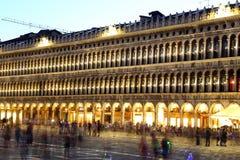 Venise, VE - Italie 10 juillet 2015 : le palais antique a appelé Proc Image stock