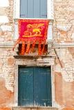 Venise Vieille façade Photo libre de droits