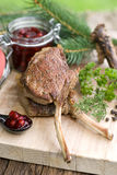 Venison chops Stock Photos