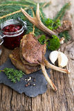Venison chops Royalty Free Stock Photos