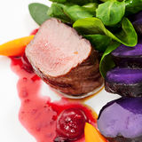 Venison Dish Stock Photo