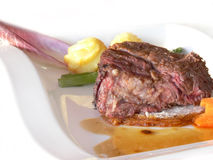 Venison dish Royalty Free Stock Photography