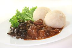 Venison goulash Royalty Free Stock Photography