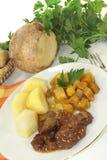 Venison goulash Stock Photos