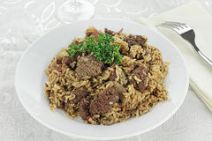 Venison Pilaf Royalty Free Stock Image