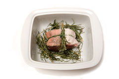 Venison, pork and rosemary Stock Photography