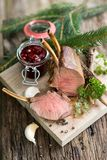 Venison rack Royalty Free Stock Images
