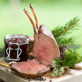 Venison rack Stock Image