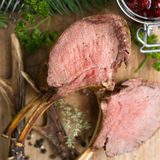 Venison rack Stock Photos