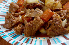 Venison ragout Stock Photography