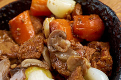 Venison ragout Royalty Free Stock Image