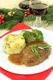 Venison steak Stock Image