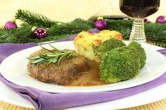 Venison steak Royalty Free Stock Images
