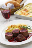 Venison steak Royalty Free Stock Photo