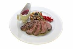 Venison steak Royalty Free Stock Photo