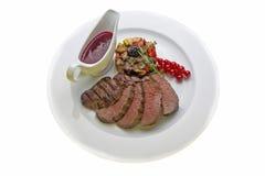 Venison steak Royalty Free Stock Photos