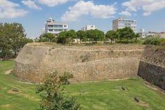 Venitian墙壁在尼科西亚 库存图片