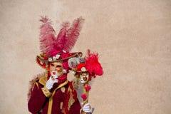 Venitian καρναβάλι Στοκ Εικόνα